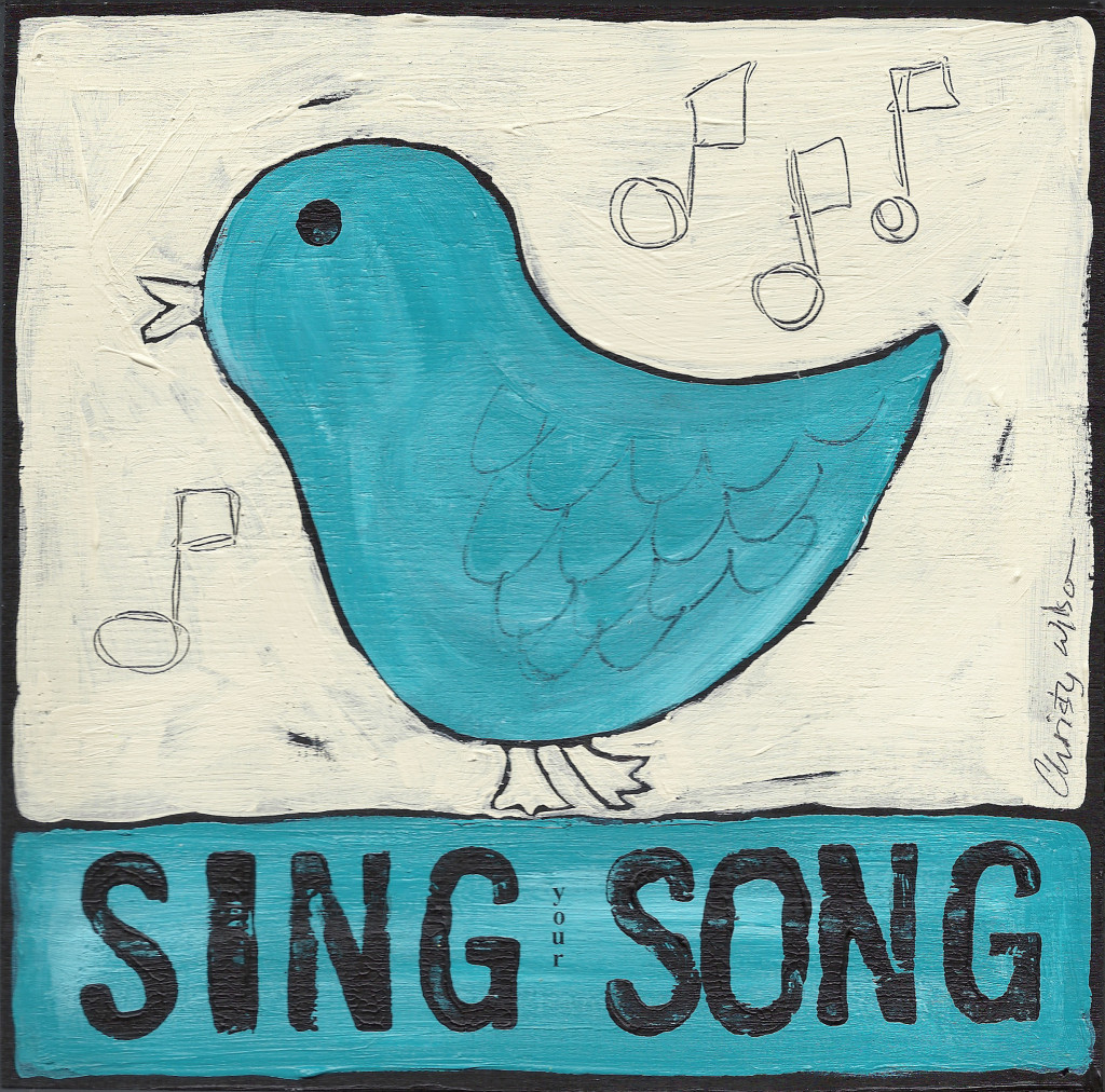 sing song turquoise