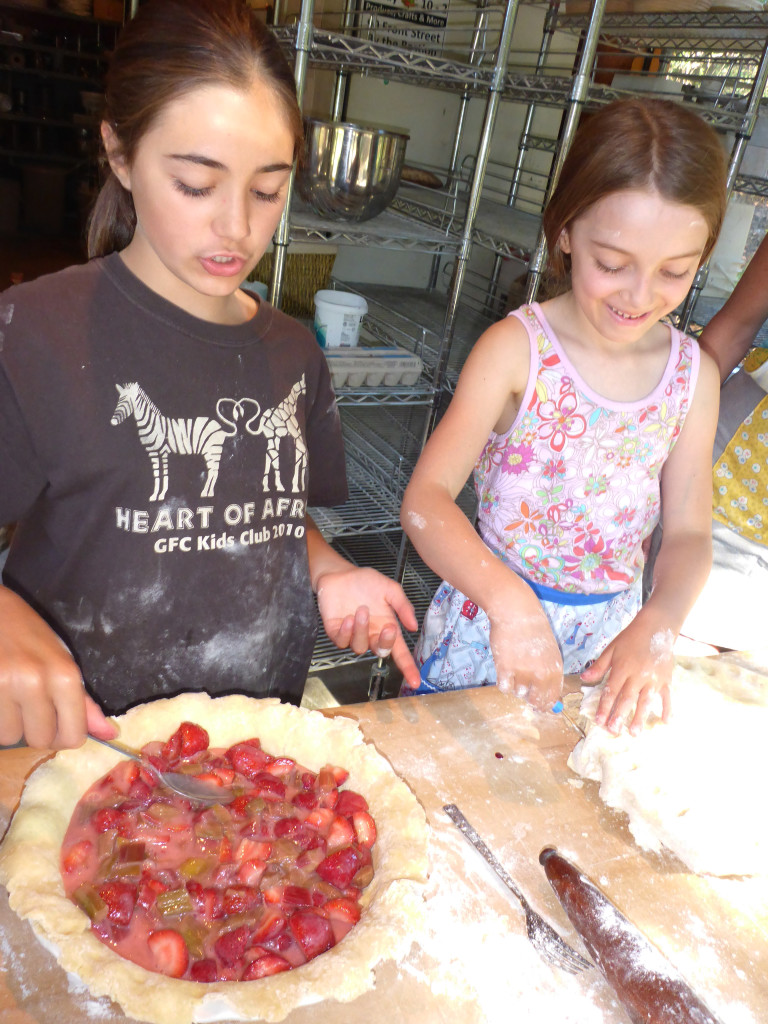 pie makers....celebrating the harvest with a pie party