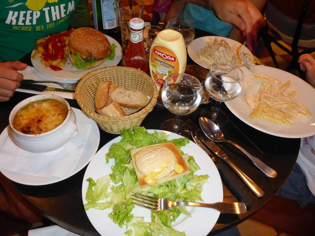 our last dinner in Paris