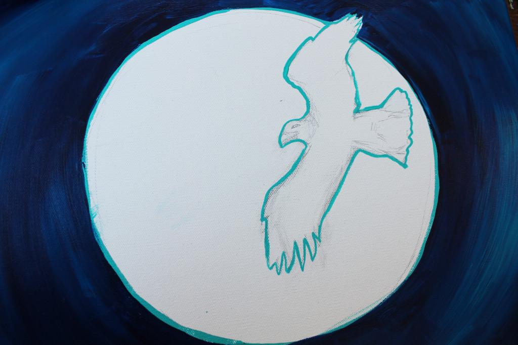 eagle moon in progress